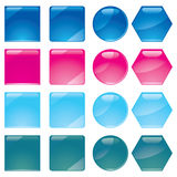 Buttons, part 10. Set of multicolored buttons, part 10, illustration additional Royalty Free Illustration