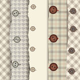 Buttons pattern Stock Photo