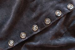 Buttons and pattern of corduroy fabric, Texture background. Buttons and pattern of corduroy fabric., Texture background Stock Photos