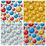 Buttons patterns. Stock Photo