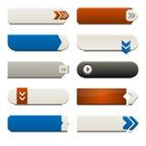 buttons plan rengöringsduk för element Arkivbild