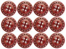buttons red Royaltyfri Foto