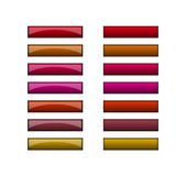 buttons redkuparengöringsduk Royaltyfri Foto