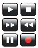 Buttons remote control Stock Photo