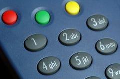 buttons remoten Fotografering för Bildbyråer