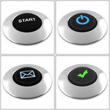 Buttons Stock Image