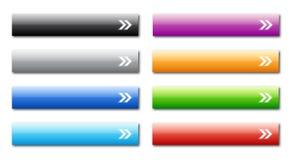buttons rengöringsduk vektor illustrationer