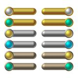buttons rengöringsduk Arkivfoto