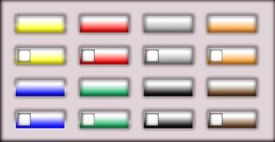 buttons rengöringsduk Royaltyfri Foto