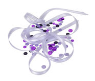 Buttons and Ribbon Royalty Free Stock Images