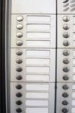 buttons ringklocka Arkivfoton