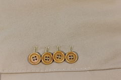 Buttons in a row Royalty Free Stock Images