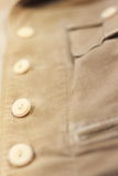 Buttons in a row Royalty Free Stock Photography