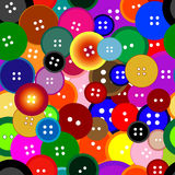 Buttons. Seamless wallpaper Royalty Free Stock Images