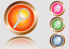 Buttons search Royalty Free Stock Image