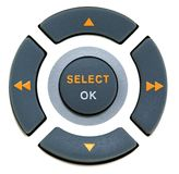 Buttons select and ok Stock Images