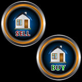 Buttons Sell And Buy Royalty Free Stock Images