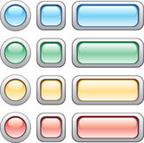 Buttons set royalty free illustration