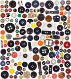 Buttons - set Royalty Free Stock Image