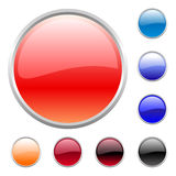 Buttons set Royalty Free Stock Photos