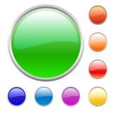 Buttons set Stock Photos