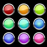 Buttons set. Vector Royalty Free Stock Photography