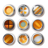 Buttons set Stock Images