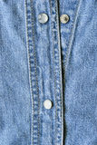Buttons on shirt Royalty Free Stock Image