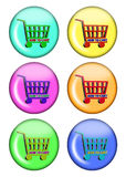 Buttons for shop Royalty Free Stock Images