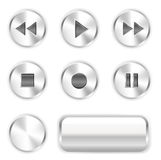 buttons spelare Arkivfoton