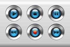 buttons spelare Arkivfoto