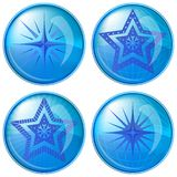 Buttons, stars Royalty Free Stock Photo
