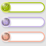 Buttons with stars Royalty Free Stock Image