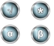Buttons and symbols Stock Photos
