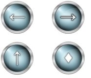 Buttons and symbols Stock Photo