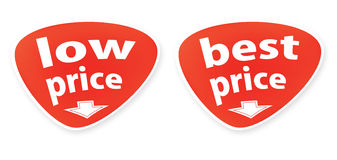 Buttons with the text of sales royalty free illustration