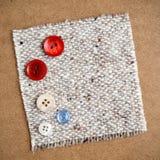 buttons torkduken Royaltyfria Foton