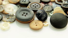 Buttons tracking stock footage