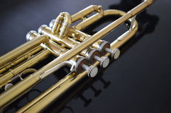 Buttons of trumpet Royalty Free Stock Images
