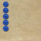 buttons tyg Royaltyfri Bild