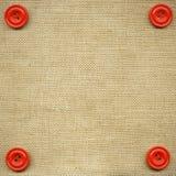 buttons tyg Royaltyfria Foton