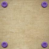 buttons tyg Royaltyfria Bilder