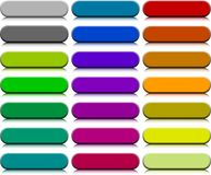Buttons. [Vector]. A lot of buttons. Vector illustration Royalty Free Stock Images