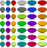 Buttons. [Vector] Stock Images