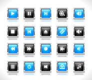 Buttons for web Royalty Free Stock Photo
