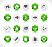 Buttons for web Stock Images