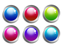 Buttons web Stock Image
