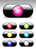 Buttons for web Royalty Free Stock Images