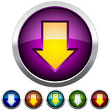 Buttons for Web Applications. royalty free illustration