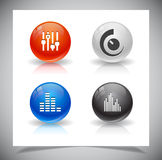 Buttons for web. Stock Photography